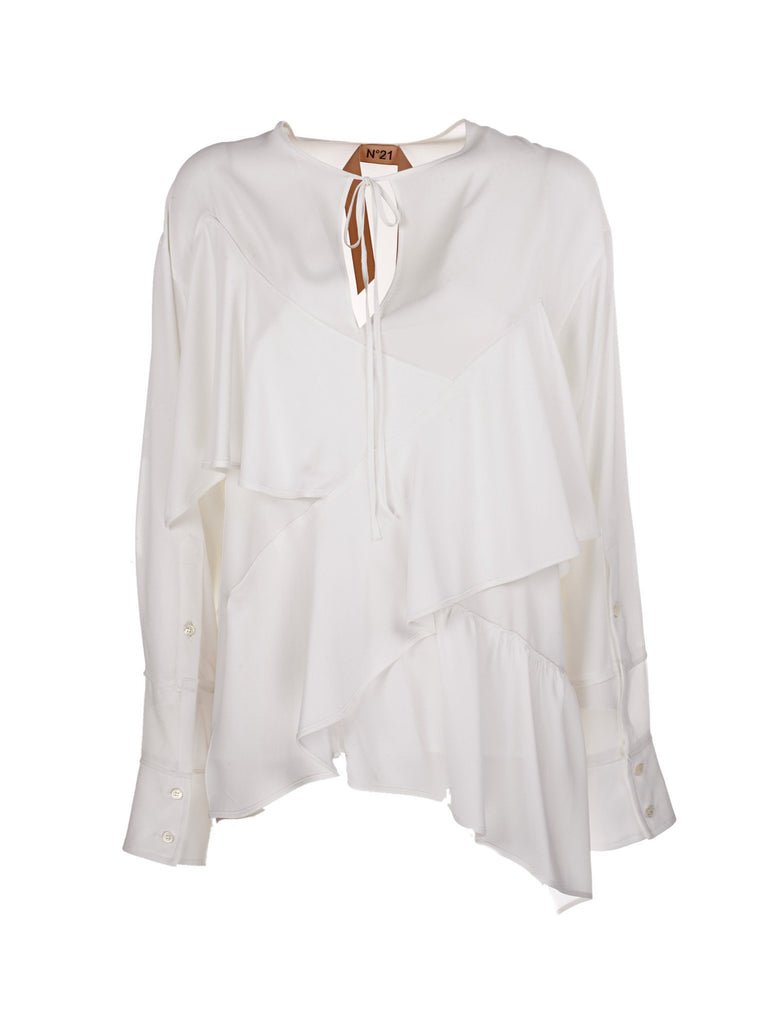 N°21 ruffle layered blouse