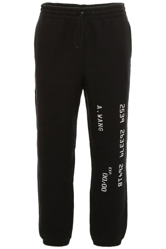Alexander Wang Credit Card Jogging Pants