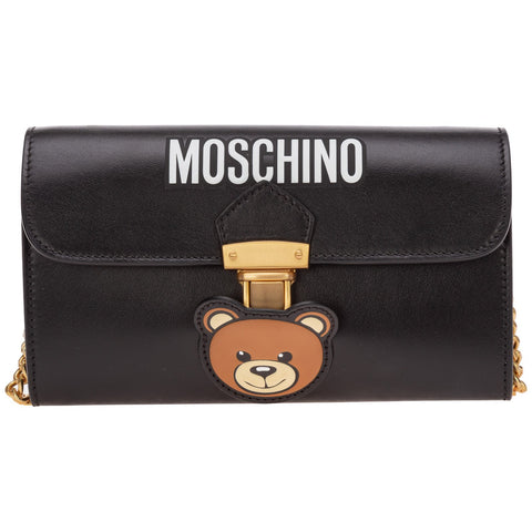 Moschino Teddy Print Clutch Bag
