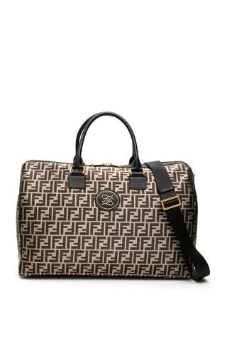 Fendi FF Double Handle Duffel Bag
