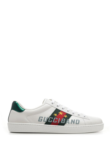 Gucci Ace Logo Embroidered Sneakers