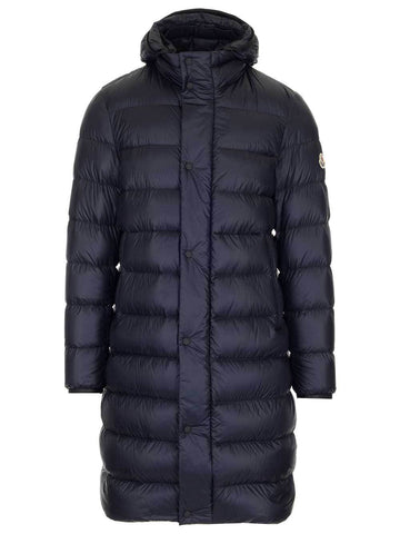 Moncler Long Hooded Puffer Jacket