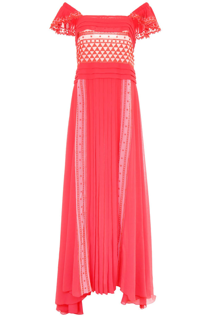 Philosophy Di Lorenzo Serafini Pleated Maxi Dress