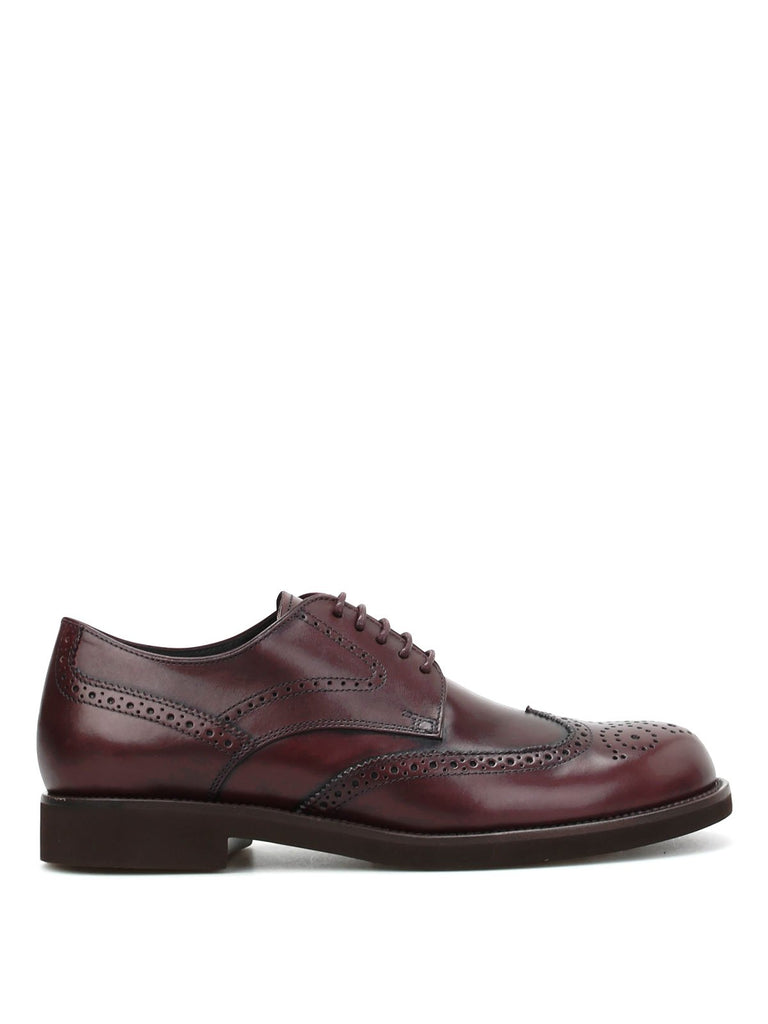 Tod's Classic Lace-Up Brogue Shoes