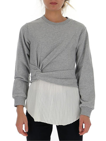 3.1 Phillip Lim Twist Detail Pleated Sweater