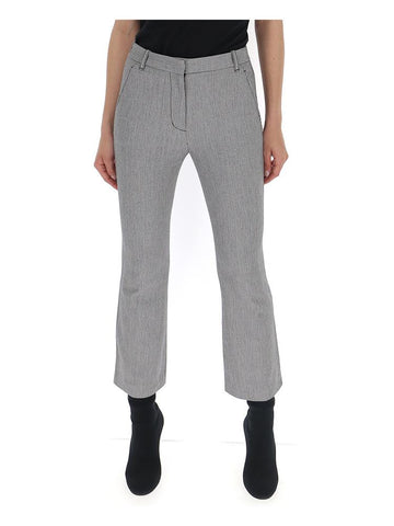 3.1 Phillip Lim Houndstooth Flared Trousers