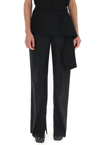 3.1 Phillip Lim Draped Trim Wide-Leg Trousers