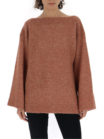 3.1 Phillip Lim Off Shoulder Knitted Sweatshirt