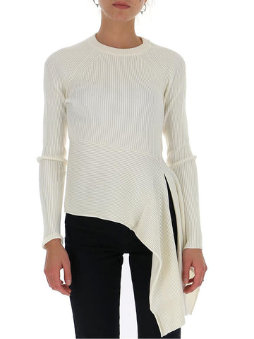 3.1 Phillip Lim Draped Peplum Blouse