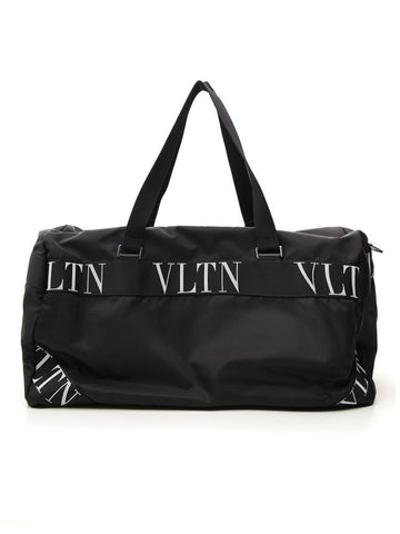 Valentino Boston VLTN Logo Travel Bag