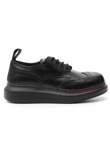 Alexander McQueen Hybrid Lace-Up Low Top Shoes