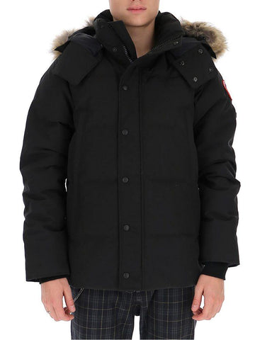 Canada Goose Wyndham Fur Trimmed Hooded Parka