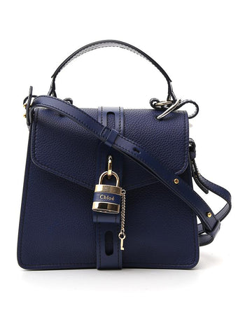 Chloé Aby Logo Padlock Top Handle Bag