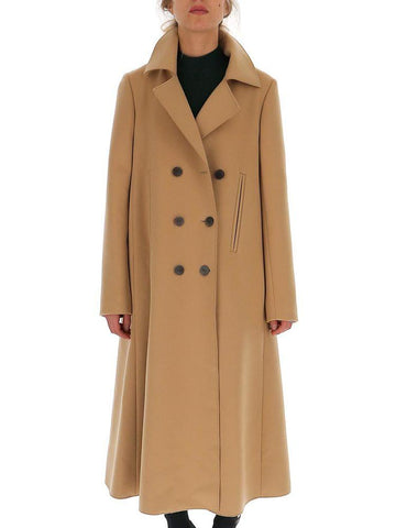 Loewe Double Breasted A-Line Swing Coat