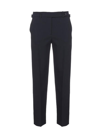 Red Valentino Buckle Trim Tailored Trousers