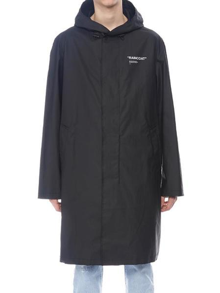 Off-White Quote Raincoat