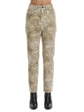 Alexander Wang X Denim Cheetah Printed Jeans