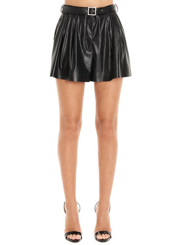 Pinko Belted Culotte Shorts