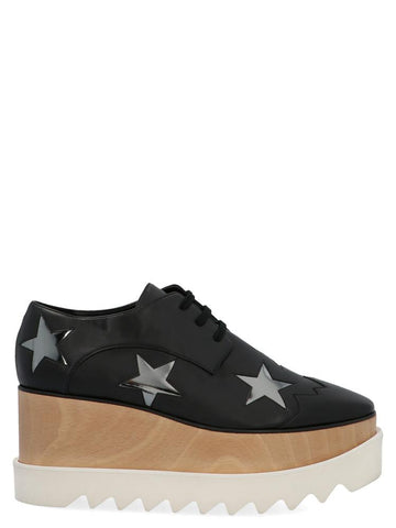 Stella McCartney Elyse Star Detail Platform Shoes