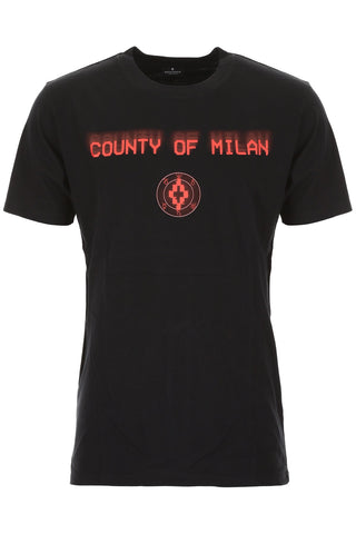 Marcelo Burlon County Of Milan Logo Print T-Shirt