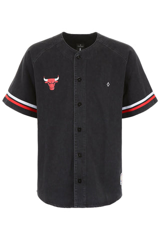 Marcelo Burlon County Of Milan X NBA Chicago Bulls Baseball Shirt