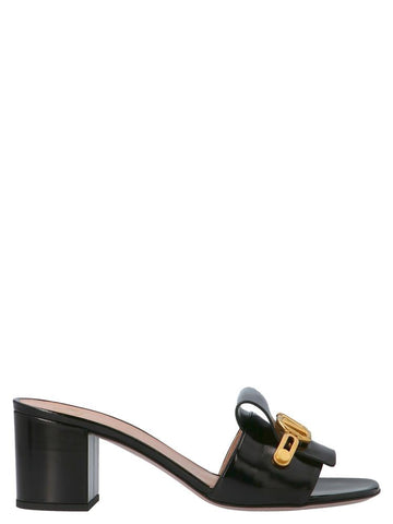 Valentino VLogo Buckle Mules