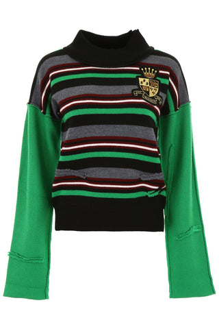 JW Anderson Striped Knitted Jumper
