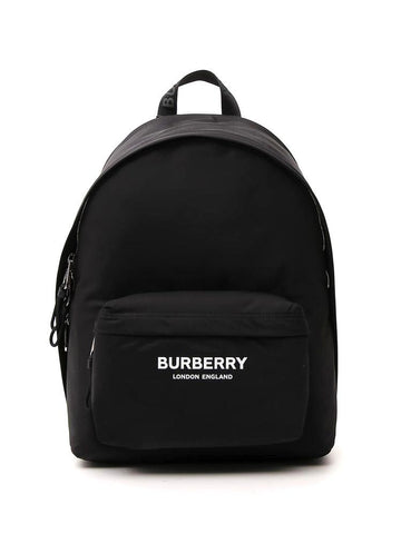 Burberry Logo Printed Backpack