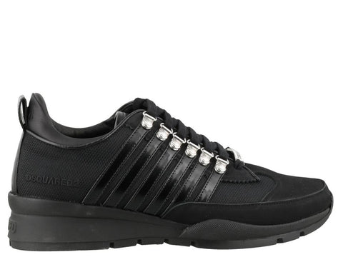 Dsquared2 Striped Low-Top Sneakers