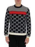 Gucci GG Striped Jumper