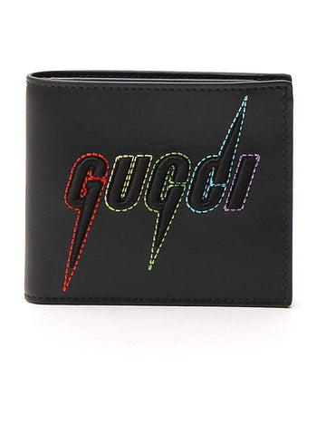 Gucci Blade Embroidered Wallet