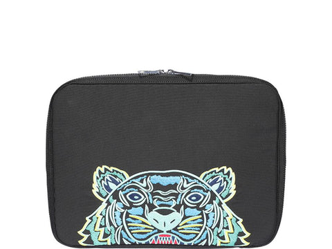 Kenzo Tiger Embroidered Briefcase