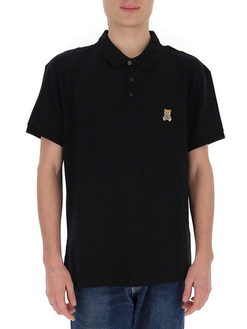 Moschino Teddy Patch Polo Shirt