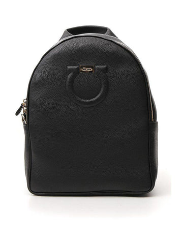 Salvatore Ferragamo Gancini Embossed Backpack