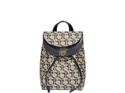 Salvatore Ferragamo Ganicni Jacquard Backpack