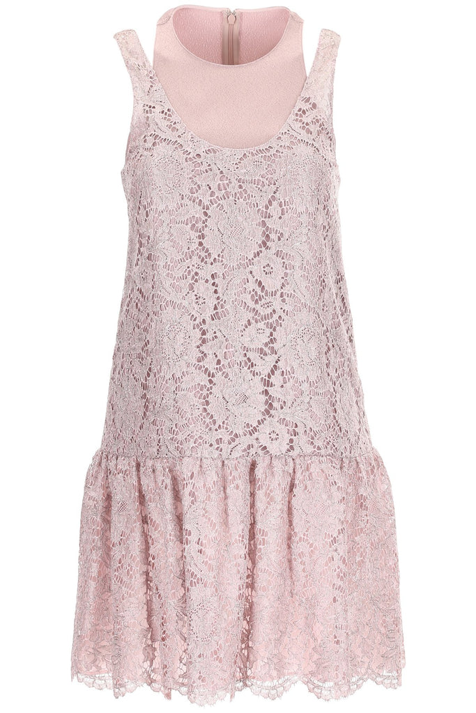 Valentino Layered Heavy Lace Dress