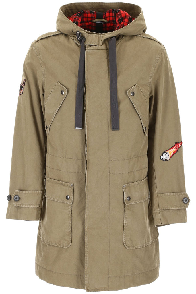 Lanvin Cotton Twill Parka