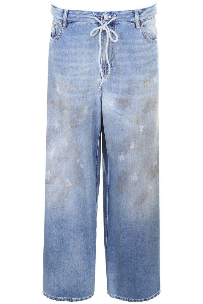 MM6 Maison Margiela Denim Palazzo Pants