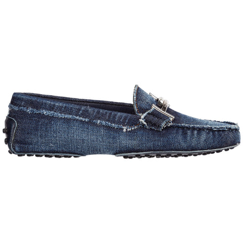 Tod's Frayed Gommino Driving Loafers
