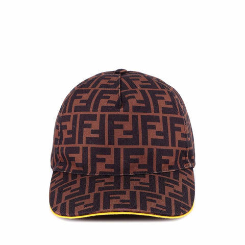 Fendi All-Over Logo Baseball Hat