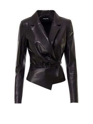 Dsquared2 Wrapped Waist Tie Jacket