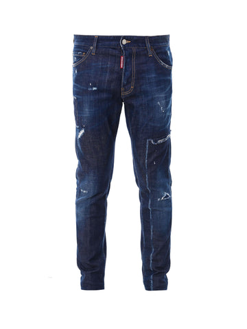 Dsquared2 Skinny Distressed Effect Jeans