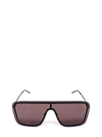 Saint Laurent Eyewear Mask Frame Sunglasses