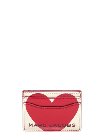 Marc Jacobs Heart Printed Cardholder