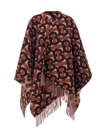 Burberry Monogram Jacquard Cape