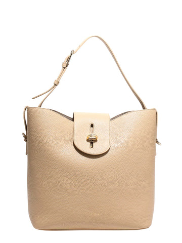 Furla Twist Lock Shoulder Bag
