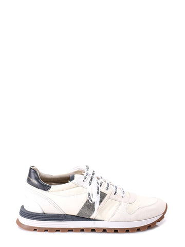 Brunello Cucinelli Contrasting Panelled Sneakers