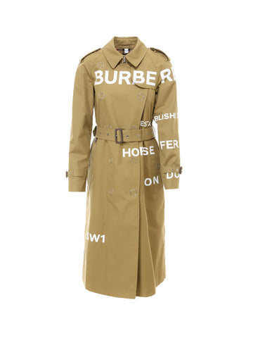 Burberry Horseferry Print Trench Coat
