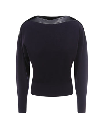 Sportmax Code Boat Neck Sweater