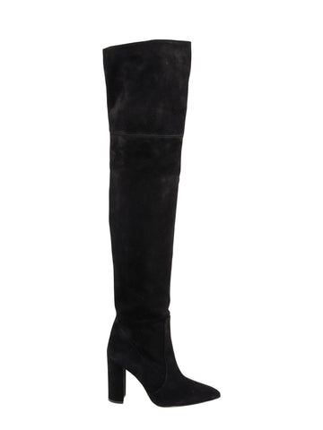 Paris Texas Suede Over The Knee Boots